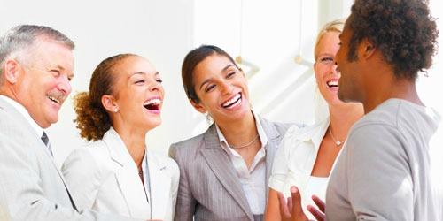 Humor tijdens sollicitatiegesprek