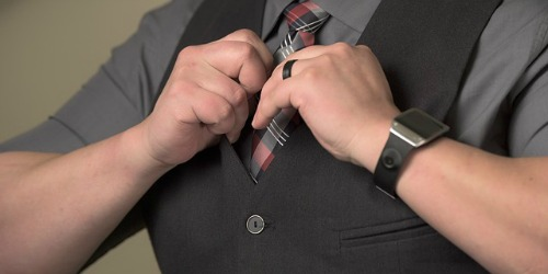 man met stropdas